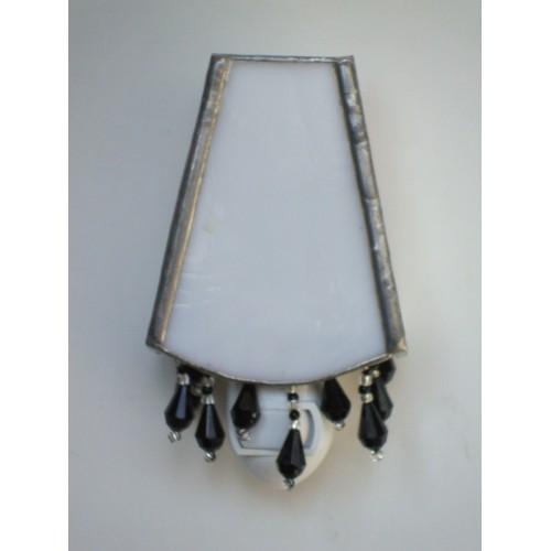 lampshade-black beads